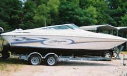 1998 Baja 252 Islander 25?6? Used Bowrider Boat& Trailer Year: 1998 Make: Baja Model: 252 ISlander Length: 25?6? ENGINE: I/O Mercruiser 425hp Donor stated*, that the engine was running Please note all engines require regular service, we have not