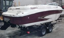 1998 Glastron GS 235 with 235 hp 5.7 liter Mercruiser with only 250 hrs. The boat has a top speed around 50mph with a cruising speed at 30mph. It is great for cruising, wake boarding , and tubing. The boat is rated for 16 people. It is in excellent