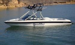 This is a very clean low hour boat. I first owner . It has been a very reliable boat and has been garage kept its entire life. Includes factory snap on bow cover and full boat cover. 13th floor tower was professionally installed in 2011 and includes two
