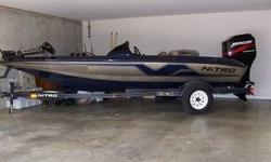 Up for sale is a 17' 1998 Nitro 700 LX bass boat with a Top speed of 52 Mph (GPS). This is a 1 owner garage kept boat in excellent condition. Below is a list of all the included features.-2002 115 EFI Four Stroke with 131 hrs. -Seastar hydraulic Steering