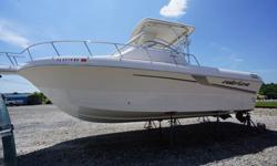 We will contact you only if you send us your phone number.This boat is great for fishing, with a walk-around deck, removable spotting tower and outriggers, a Raytheon fish-finder, and several rod holders.The twin engines have Bravo III outdrives with dual