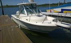 1998 2470 WA PURSUIT, 225 E TEC 400 HUORS +/- SS PROP,HARD TOP, ROCKET LUNCH 4 ROD HOLDER, NEW CANVAS,PORTA PATY,RAW WATER WASHDOWN, FRESH WATER SINK WITH SPRAY FAUCET,LIVEWELL, ALL PUMPS ARE 2 YEARS OLDELECTRONICS: RAYMARINE C80 DISPLAY,RADAR RD1824,IN