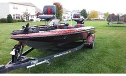 carpeting, both ordered directly from Ranger. New steering wheel, gauges and floor drains. Two new Lowrance LMS520Cs color sonar/GPS installed in bow and dash at time of interior renovation. Motor Guide 71# trolling motor, 2 year old 3-Bank Pro Charger,