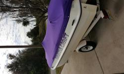 """1988 ShuttleCraft Boat with 1999 Seadoo GTX Jetski. If you are not familiar with ShuttleCraft, the 15"""" """"unpowered"""" boat has a cavity that the Jetski is secured into and the ski powers the boat. The listed combonation will do upto 35 mph. The boat can be"""