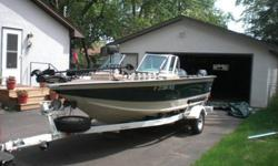Stock Number: 713680. Custom molded dash with walk thru windshield ; 12 v plug in ; Tilt steering ; AM/FM cassette - added Sirius/XM radio connections ; 2 bass seats w/pedestal ; 1 bass seat with stationary pedestal and slide at console ; 5 floor bases ;