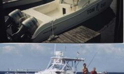 Type of Boat: Fishing Boat CuddyYear: 1999Make: World CatModel: 266 SFLength: 27Fuel Capacity: 30Fuel Type: GasEngine Model: Twin 130hp HondasSleeps how many: 2Inboard / Outboard (Boat): Twin OutboardTotal Horse Power: 260Beam (Boat): 8.6Hull Material