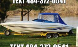 Baja 272 Boss fresh water boat is in excellent condition. Just pulled out of storage and ready to go for the boating season. It features a 2002 7.4L Mercury in/outboard with 582 hours. Has functioning trim tabs and the sharp stainless steel exhaust. The