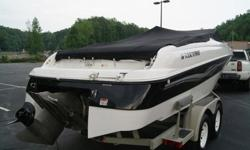 Vehicle InformationHull identification number: FWNMF123K899Condition: UsedFeaturesType: Bowrider Engine type: Single inboard/outboard Use: --Length (feet): 22.0 Engine make: Volvo Primary fuel type: GasBeam (feet): 9.0 Engine model: 5.0 GI Fuel capacity