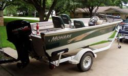 Durable, dependable single owner boat - purchase includes all manuals. Has been great fishing boat, in 16 years have owned had no problems. Additional equipment includes: Lowrance depth finder on the console, Hummingbird depth finder on the trolling motor