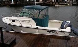 1999 Parker Model 2110 21' walk around with 175 Yamaha salt water series (FF/DF/GPS New last season) , VHF Full enclosure and cockpit cover just serviced everything is in like new condition in water and ready to go. Runs like new great on gas! The full