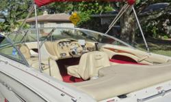 The 190 Signature is perfect for anyone looking to have a good time out on the water without having the hassle of a Big boat- She?s easy to handle and delivers a smooth ride and Features seating for Eight. Bowriders always make for a fun day on the water
