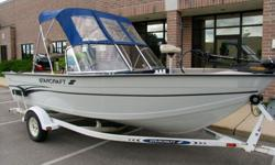 1999 Starcraft Fishmaster 176 with 125 hp Mercury Outboard. They do not build them this well anymore. Come see it and I'll show you. This boat shows like a 2 year old boat!!Serious fishing meets family fun in the FishMaster 176 fish & ski.With its deep