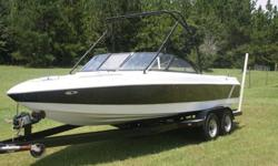 1999 Tige Riders ED. Very large 21 foot wakeboard/ski/surf boat. If you are looking for a great deal on a good boat this is the one for you. This is a decent looking good running boat, however it is not perfect and the reserve is set accordingly. I am