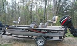 Excellent Condition overall. Seats are pristine, little to no wear. Carpet is clean, no stains to speak of, no rips, no tears. All electronics work perfectly. Motor starts and runs perfectly. EXTRA CLEAN INSIDE AND OUT. This boat never just sits at a