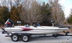 THIS IS AN EXCEPTIONALLY CLEAN BOAT FOR THE YEAR, AND IS READY TO FISH TODAY. IT'S BEEN ON THE WATER SEVERAL TIMES ALREADY SINCE THE FIRST OF THE YEAR. HERE ARE SOME FEATURES:POWERFUL YAMAHA V-MAX 3.0L FUEL/ OIL INJECTED ENGINE !STAINLESS PERFORMANCE