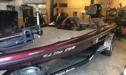 This boat has it all. Triton TR21 single counsel 21 foot bass boat with 2003 Yamaha HPDI 225 outboard with less than 100 hours on the motor. New lower unit last fall only out 2 times since.Features:Yamaha HPDI 225 HP outboard with under 100HRS New lower