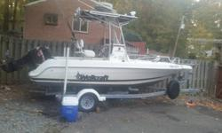 1999 Wellcraft Fisherman 190 Center console fishing boat. This boat does include a 2004 Tidewater trailer both with clear titles.Great fishing boat. Comes with Raymarine radar system that is a fish finder, depth scanner, GPS, satellite, etc. LED under