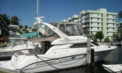 1999 Sea Ray 45 EXPRESS BRIDGE Don't miss this loaded 3 stateroom express bridge. Unique features found on this boat include Bridge Air Conditioning, Cockpit Deep Freeze, Watermaker and Hydraulic Swim Platform and the list goes on and on. If you are