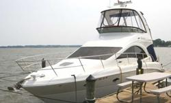 2007 Sea Ray 36 SEDAN BRIDGE Everything about this beauty is designed with extended voyages in mind, including its outstanding ride and sea-keeping abilities, open and airy cabin and two well appointed staterooms. While the captain takes command at the