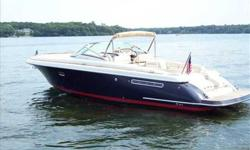 2006 Chris-Craft 36 CORSAIR Always been in fresh water on a lift and in a covered slip. Professionally maintained and only 162 Hours! For more information please call