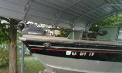 2006 Lund 1800 Fisherman: 18.5 feet long deep V hull, Mercury Optimax 150 HP EFI, 2 Scotty downriggers with weights and 2 downrigging rods and reels, Storage for 15 fishing rods, side storage and locking glove box, locking gas cap, 3 removable seats and