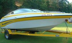 2003 192BR Crownline Ski Boat!!! Mint condition, custom crownline snap cover, beautiful color different. Boat has a 5.4 V8 inboard volvo motor with only 26HRS!! Very well maintain. Never seen salt water,comes with a New Bimi top used only once. all