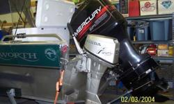 2004 Duckworth Advantage Classic 196 Outboard propeller 19.six feet Very nice, always stored indoors. Bottom Line Fish Finder Fire Extinguser, four life vests, River Anchor, throwable personal floatable device seats are in fantastic condition Everything