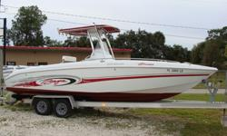 250 Islander with t-top. Twin 150 Evinrude Oceanrunners , livewell, fishbox, salt and fresh water washdowns. Good price, needs some cosmetics. Trailer available for sale. 813-831-5694