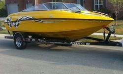 2008 Crownline, 18 ft, open bow, 2 ft swim platform, V6 Merc Cruiser, under 100 hours