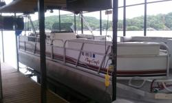 1997 Playcraft 2600 Powertoon with 200 HP Mercury. 400 hours. Excellent condition!