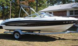 Nice 2008 Bayliner 205 bow rider. This boat is in very good condition. It has just been inspected and serviced and is about to be detailed to be ready to sell. The boat comes with a 5.0L 305 small block V8 engine and a factory galvanized trailer with
