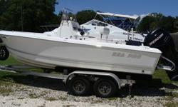 135HP Verado, 3210 Garmin, 3210 Charter, 502 Icom, fuel flow guage, Bimini, Battery switch, head in center console, anchor, new batteries, Road King Alum. Trailer.