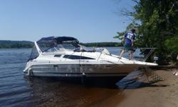 30' Bayliner 2855 Cierra with portable A/C unit$19,900 (JUST REDUCED) Boat Only$2,000 Dual Axle easy load trailer7.4 Mercruiser with Bravo III Drive, stainless steel dual propFRESHWATER ONLY BOAT - Great condition boat with tons of extras and brand new