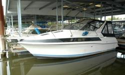 The 530 Montego is a popular family cruiser that is one of the roomiest boats to be found in this size. It has a very spacious cabin and a generous cockpit. She has twin Volvo Pentas and is in above average condition. Galley has a stovetop and