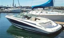 2004 Regal 2200 FasTrac Bowrider powered by a high performance 270 HP Volvo Penta 5.0 Liter GXI Inboard, SX Outdrive with approx 516 hours of use. The FasTrac Hull on the Regal 2200 Bowrider will have owners running well ahead of the pack. Whether