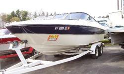 21' 2002 Bayliner Rendevous Deck Boat - Mercruiser 5.7L 260 HP Bimini Top, Bow & Cockpit Covers - Matching Tandem Trailer..............$19,995.00
