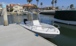 19' Sea Pro Center Console 2004 Sea Pro 19? Center Console for sale in San Diego, CA. Powered by a Mercury 135hp Optimax 2stroke outboard with low hours. Electronics include Lowrance HDS 5, Standard Horizon VHF radio, and Jensen marine stereo. Highlights
