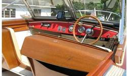 Project boat. Hull needs TLC. NO motor,motor controls,speedo,tach,or horn. New interior, topside varnish. Nice looking boat but I am tired of spending on it. My loss, your gain.NO emails. Call 765 643-3246 after 4pmListing originally posted at http