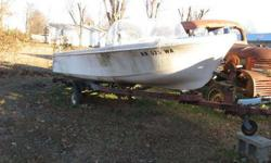 would clean up nice, good tires, sharp two seater boat make offer