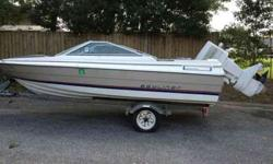 1983 Bayliner Capri for sale. $1000 OBO. Interior needs a lot of work. Galvanized trailer included. Has never been in salt water only fresh water. 85HP engine. Clear title. Perfect winter project! Respond to (click to respond) or.Listing originally posted