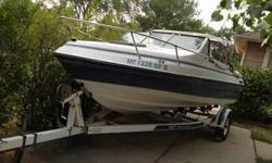 I have a 1987 mercruiser boat with trailer. It needs a head gasket & has minor tears on the seats. Price is negotiable. Contact Aj at 3134683883