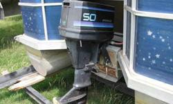like new Force outboard boat motor