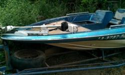 Boat needs sum work but need to get rid of it ,motor still running,but it need sum batterys, boat in great shape and the trailer needs tire......Call at 318-450-2432 ask four JocListing originally posted at http