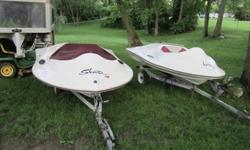 I have 2 1999 Sea Skate boats for sale. One is complete but has had the motor stolen off of it and the other is missing some pieces also. These are left over from a dealership when the company went out of business. I personal own a 1998 yellow one that I