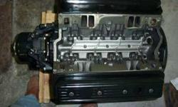 I have a fully remanufactured engine from Michigan Motorz with a 1 yr warranty 1987-1994 GM 5.7L/260HP Long blockIncludes oil pan and valve coversI purchased this engine for a project boat but decided to sell it instead.Installation available and credit