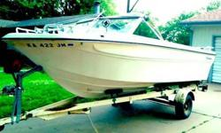 IMP Commanche Boat with Trailer INCLUDED! 155 hp, V6 Buick motor, OMC outdrive MAX passangeers