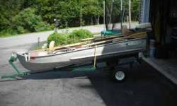 Boat-trailer--5 1/2 horse Motor (templeton ma) -------------------------------------------------------------------------------- Date