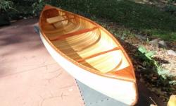I used this RARE and beautiuful canoe as decor in my home. Ready to paint and use as a light canoe, easy to portage. You paint the color of your choice. Call Ralph in Biloxi 601-401-3757