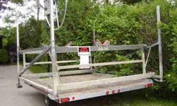 "Boat lift. 2500 pound. Shoremaster. (Minnesota manufacturer 25+ years). Model 25108. 108"" wide inside; 115"" long. $1175/B.O. ($2500 new). Carl 763-477-5701Listing originally posted at http"