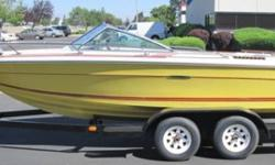 "1979 Sea Ray 19' Open Bow Boat SERA89130377Yellow, 350 Chevy Inboard, Tandem Axle Trailer, Titled Unit $14 Dealer Documentation Fee Applies, Certified Fund Payment OnlyTIMED ON-LINE AUCTION - ""BIG BOY TOY""INCLUDING IDAHO STATE POLICE / DEPT OF LABOR /"